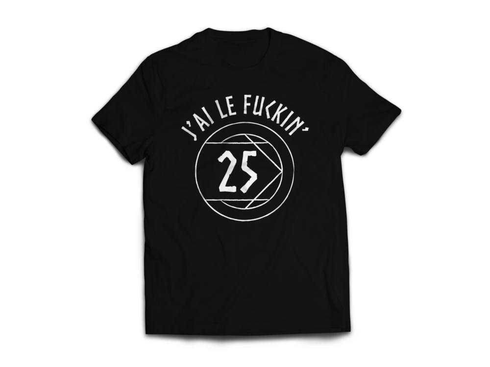 T-shirt «Fuckin'25»