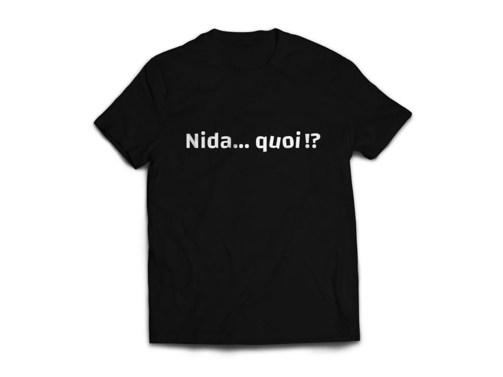 T-shirt «Nida…quoi !?»