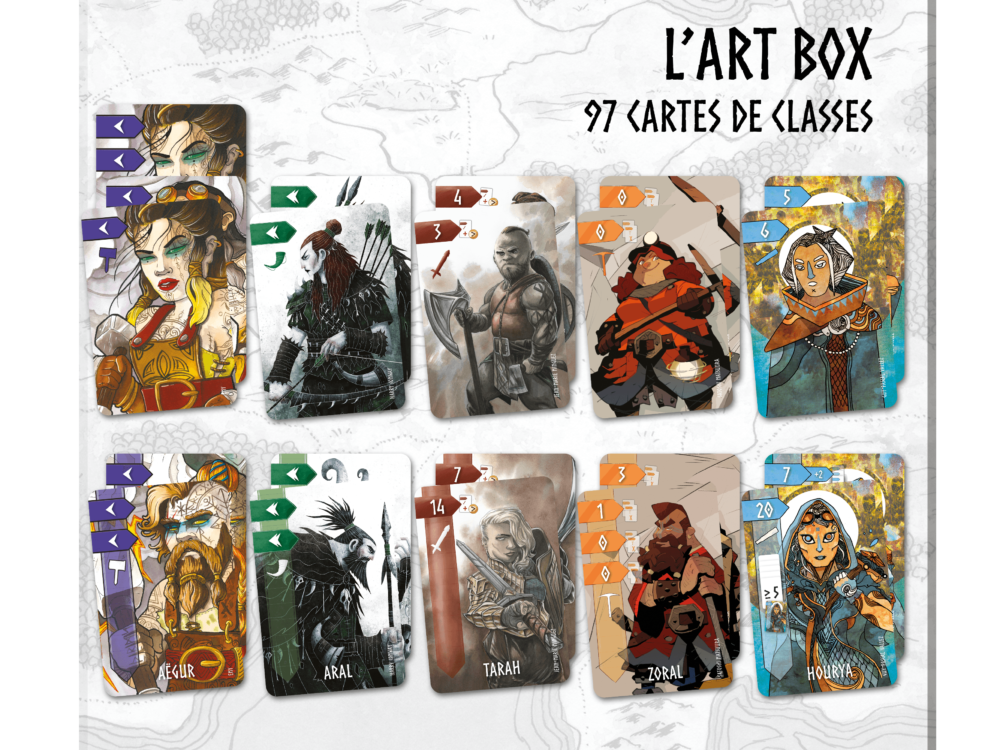Art Box + Sleeves Art Box (x101) offertes