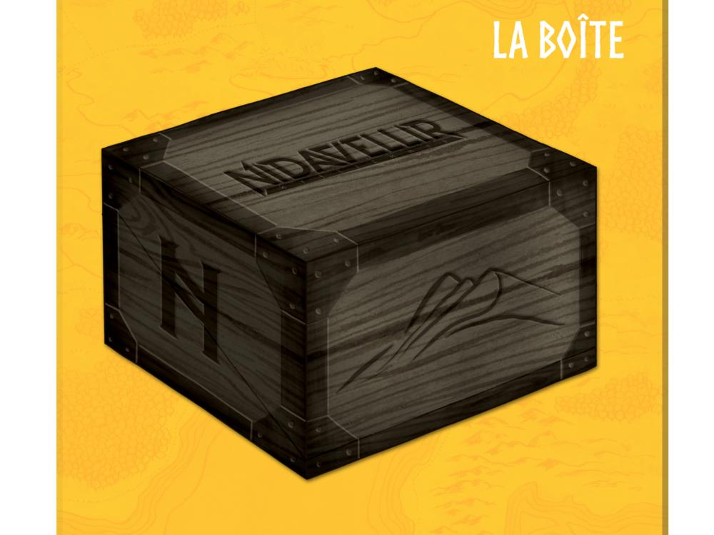 Trésor Royal de Luxe + Sleeves Nidavellir & Thingvellir (x172) offertes + Art Box + Sleeves Art Box (x101) offertes