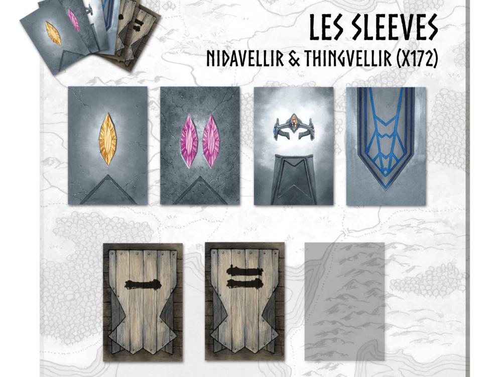 Sleeves Nidavellir & Thingvellir (x172)
