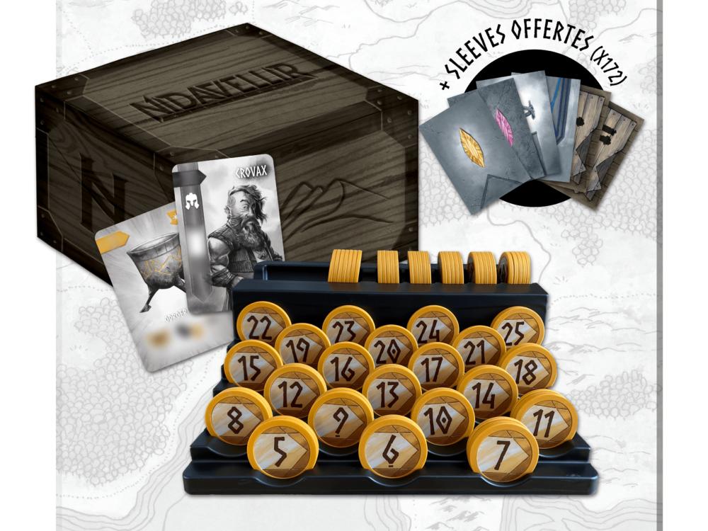 Trésor Royal de Luxe + Sleeves Nidavellir & Thingvellir (x172) offertes